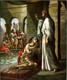 Healing By The Pool Of Bethesda