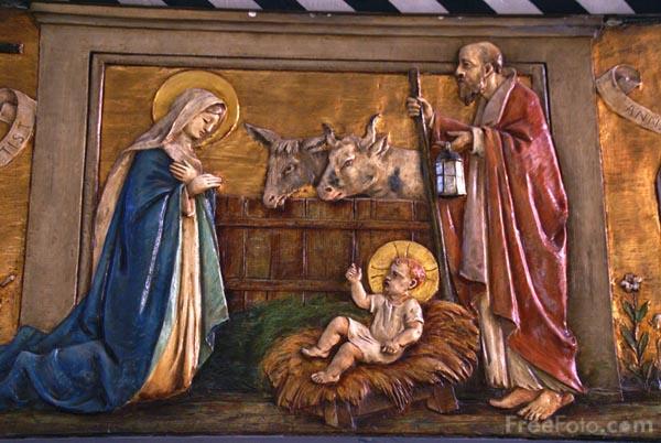 an easy to draw nativity scene.