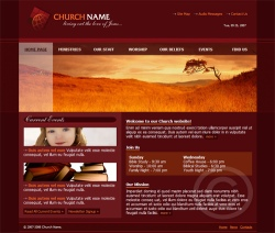 church-website-template