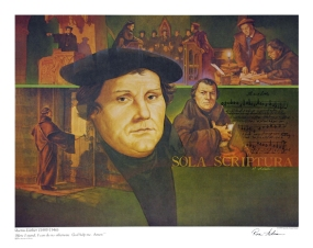 Martin Luther by Ron Adair