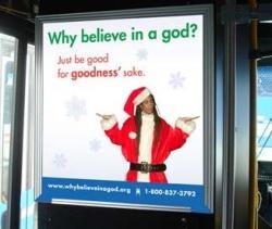 Atheist X-mas Bus Ad