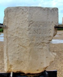 Pilate Dedication Stone