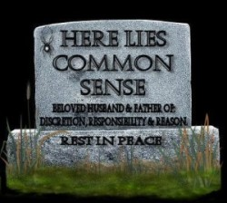 Tomb of Common Sense