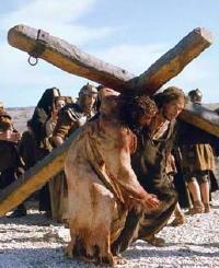 Simon of Cyrene and Jesus
