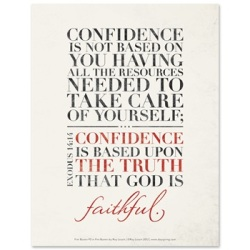 Confidence in God