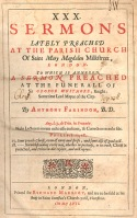 Anthony Farindon Sermons