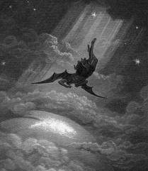 Satan Cast Down From Heaven