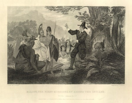 Elliot first missionary among the Indians